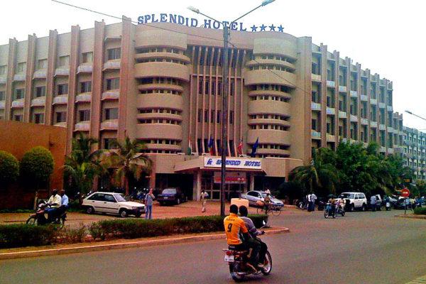 The Splendid Hotel in Ouagadougou. Photo: zenman