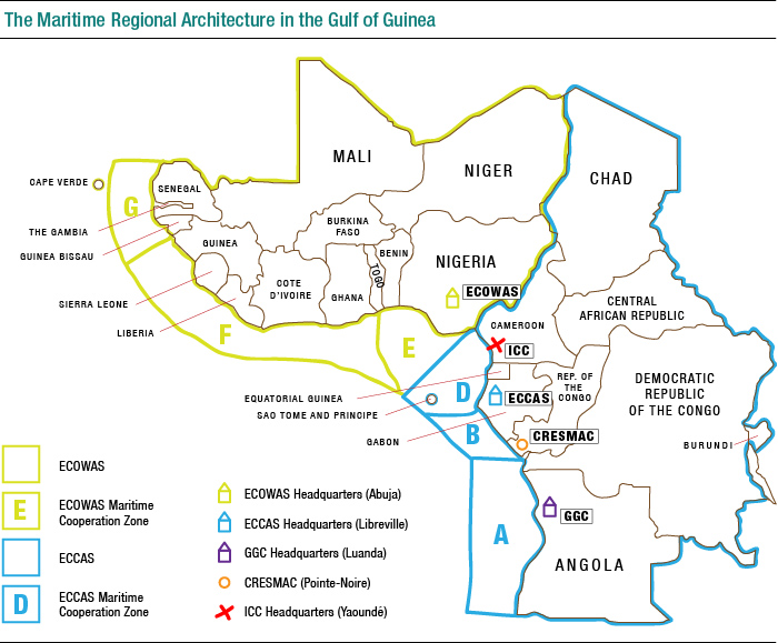 The Maritime Regional Architecture in the Gulf of Guinea