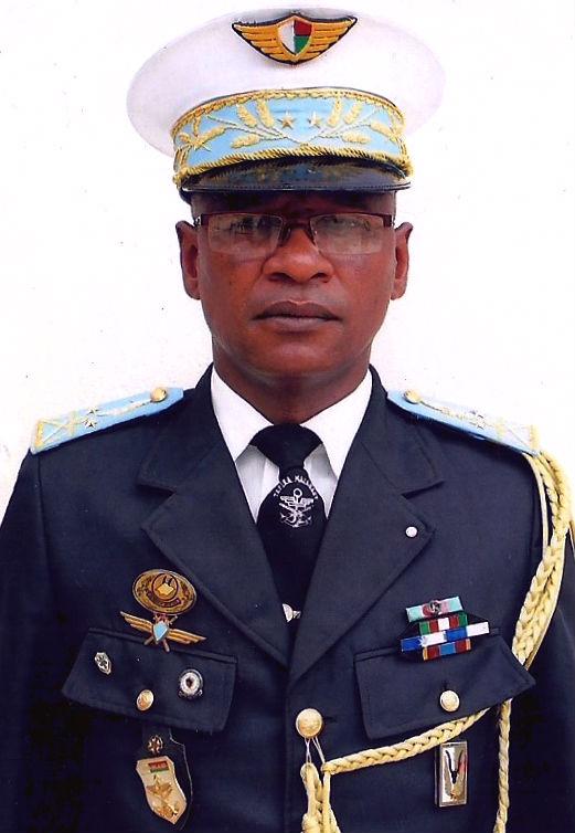 Air Brigadier General Alex Patrick Andriamahazoarivo of Madagascar