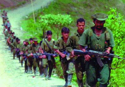 FARC insurgents
