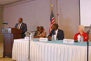 Media and Security Sector - Africa Center program in Liberia