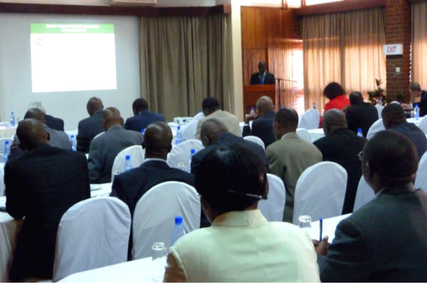 Presentation at National Security Strategy symposium in Malawi