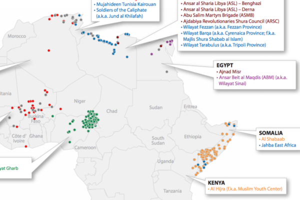 Africa's Active Militant Islamist Groups
