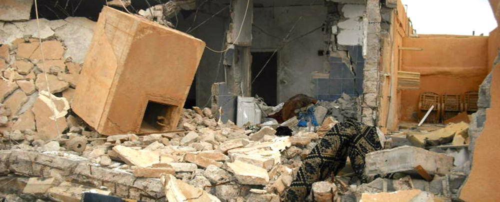 Libya rubble