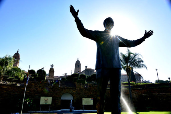 Nelson Mandela Statue, Union Buildings, Tshwane, Pretoria, Gauteng, South Africa