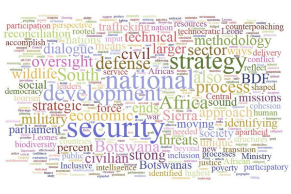 More Than a Technocratic Exercise: National Security Strategy Development in Africa