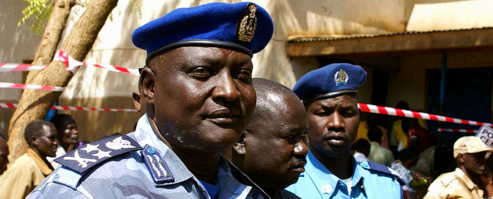 Inspecteur général de la police du Soudan du Sud LtGen Acuil Tito Madut