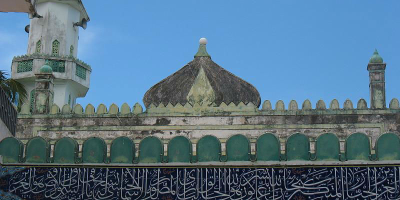 A mosque in Mombasa