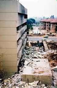 Aftermath of the 1998 U.S. embassy bombing in Kenya