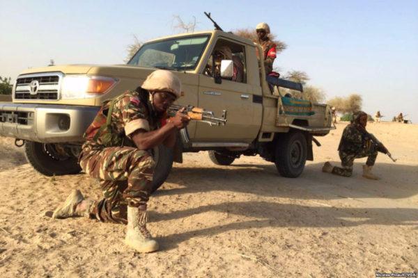 Nigerian Army Boko Haram demonstration