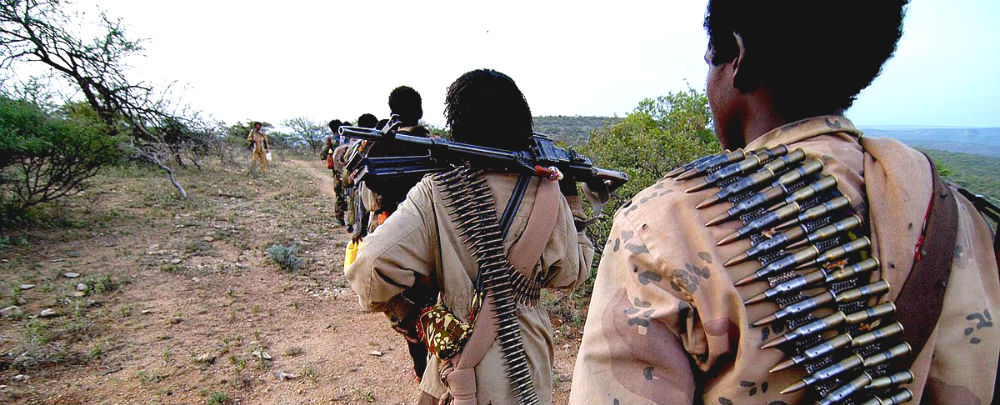 ONLF armed fighters