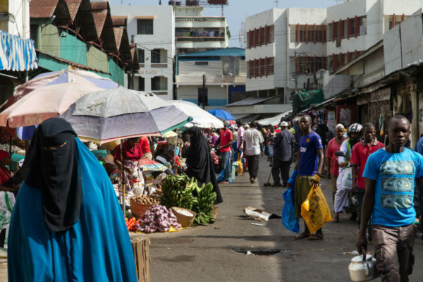 market in Mombasa