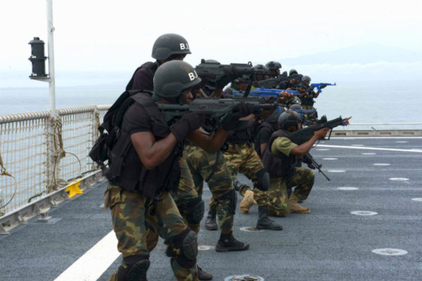 Gulf of Guinea boarding simulation