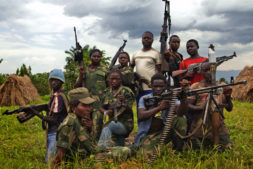 Female Congolese Fighters (Photo: Mai Mai Shetani/FDP, Buramba military base, Nyamilima, North Kivu, DRC)