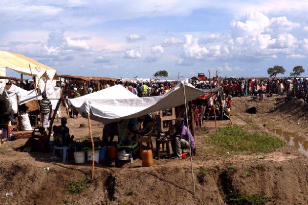 Bentiu Camp in South Sudan