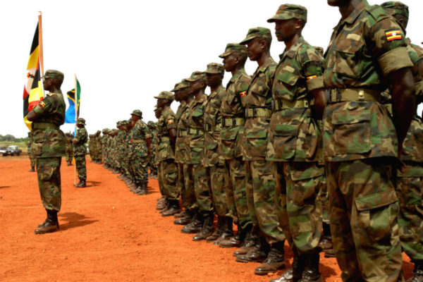 African Soldiers at Natural Fire 10 exercise