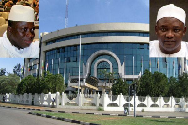 Ecowas Jammeh Barrow