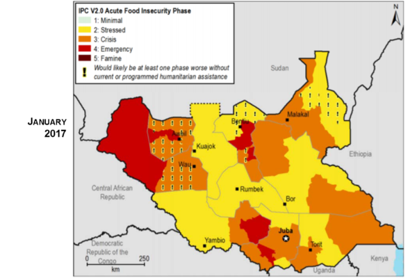 Food Insecurity in South Sudan