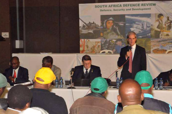 South Africa defense review meeting