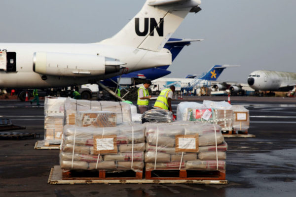 UN supplies in DRC