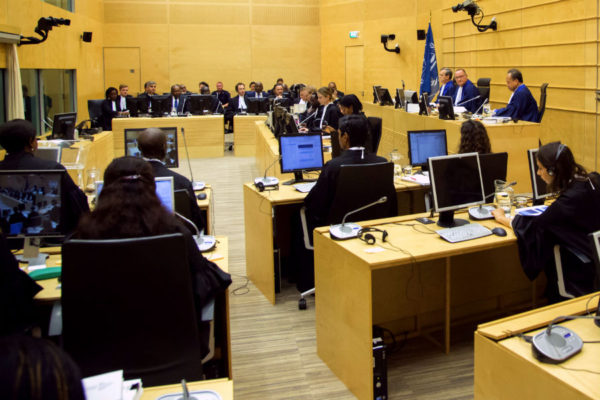The trial of Jean-Pierre Bemba Gombo opens before Trial Chamber VI at the International Criminal Court on September 29, 2015. Photo: ©ICC-CPI.