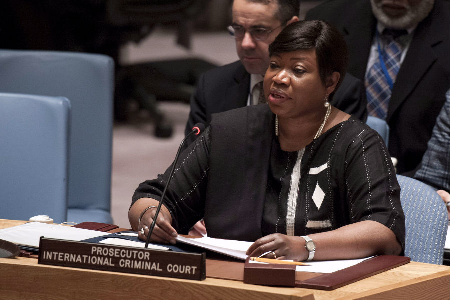 ICC Prosecutor Fatou Bensouda. Photo: UN/Kim Haughton
