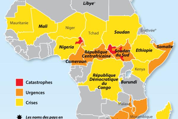 Insécurité alimentaire grave et les conflits en Afrique