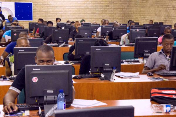 Africa internet cafe