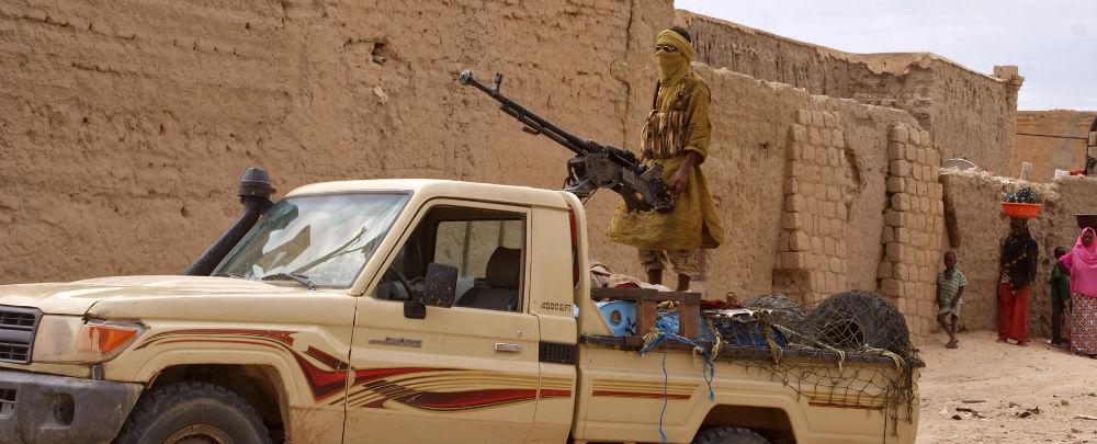 Ansar al-Din fighters in Timbuktu