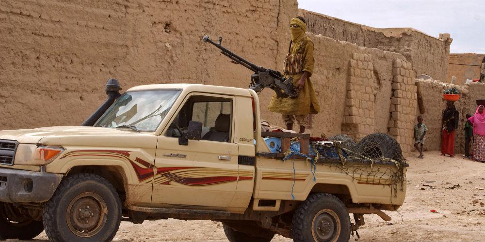 Ansar al-Din fighters in Timbuktu 1000x500