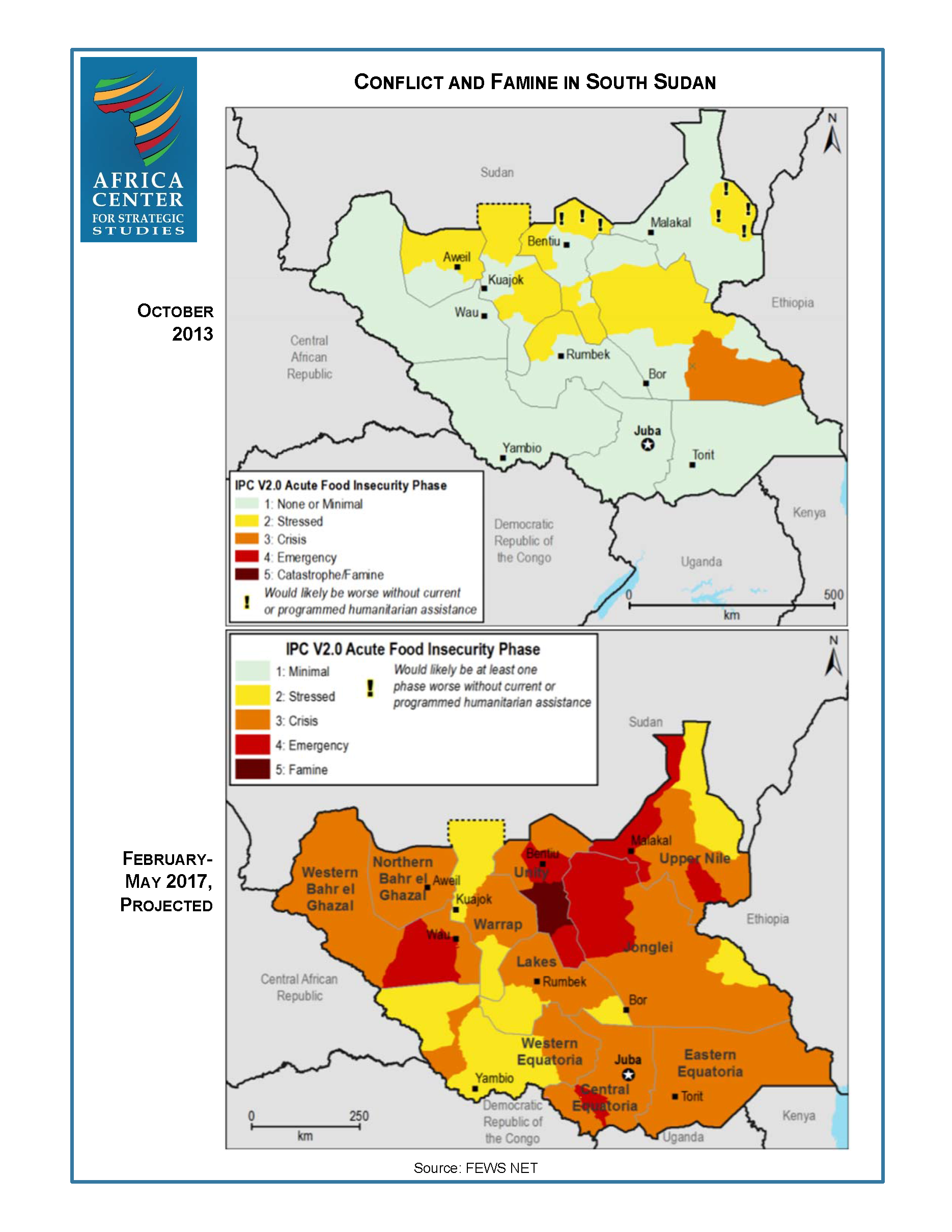 Conflict and Famine in South Sudan