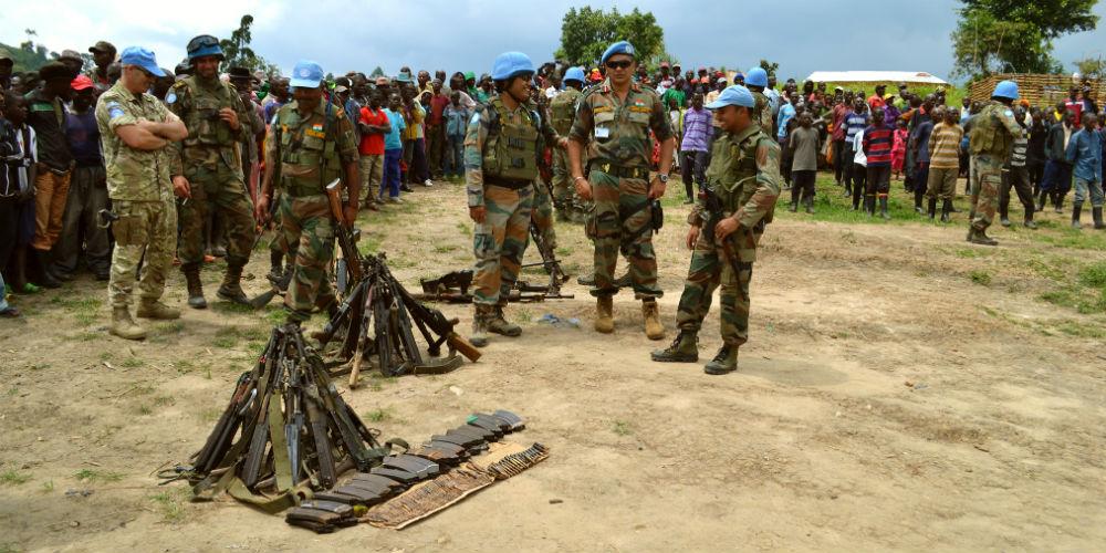 Disarmament of FDLR combatants 1000x500