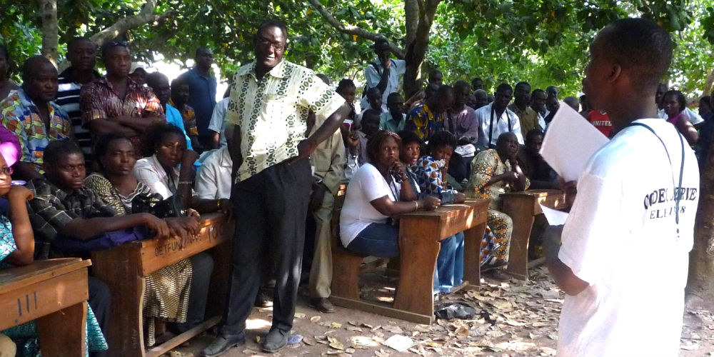 Ghana election observers receive election briefing support