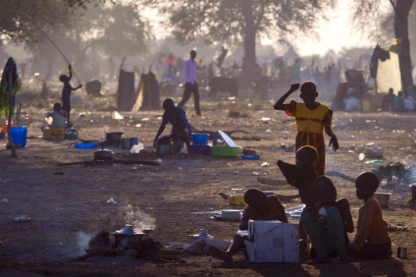 Refugees from Bor South Sudan. Photo: Oxfam East Africa