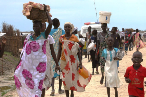 South Sudan IDPs in Bentiu