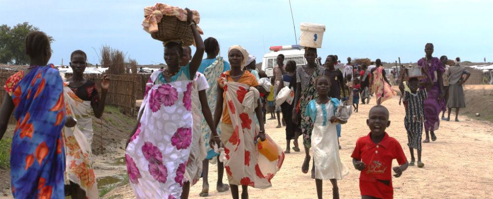 South Sudan IDPs in Bentiu