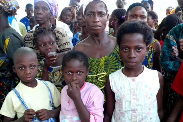 Ivorian refugees in Liberia