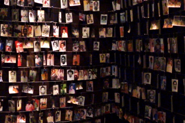 Photos of Genocide Victims, Genocide Memorial Centre, Kigali. (Photo: Adam Jones.)