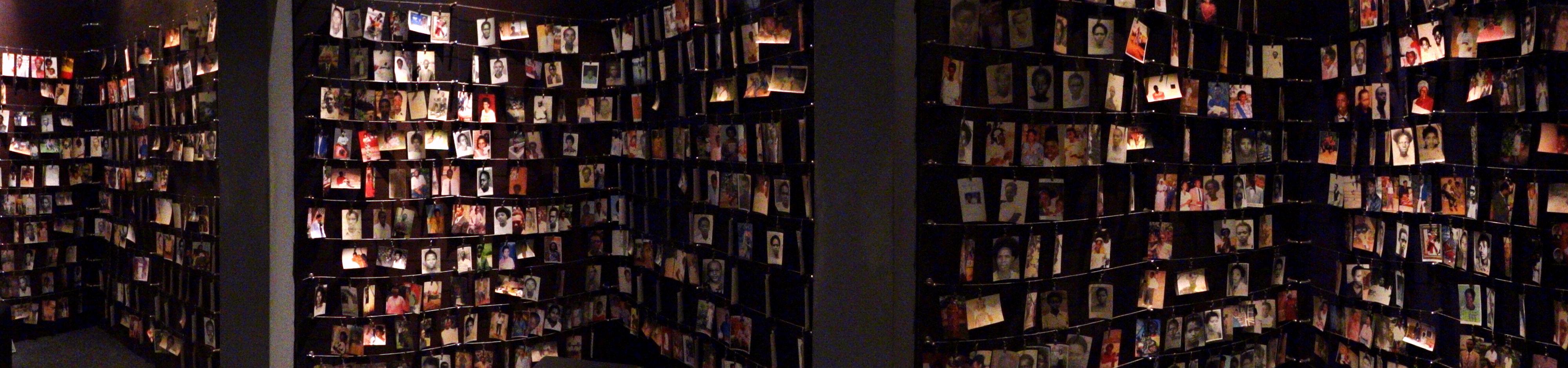 Photos of Genocide Victims, Genocide Memorial Centre, Kigali. (Photo: Adam Jones.)