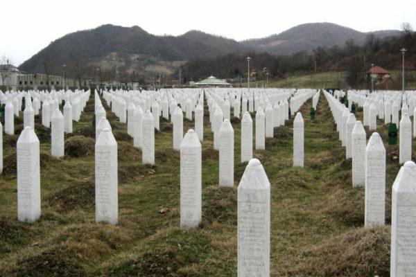 Srebrenica massacre memorial.