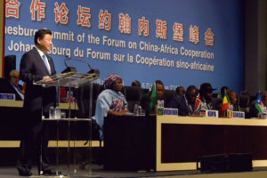 Xi Jinping at Forum on China-Africa Cooperation