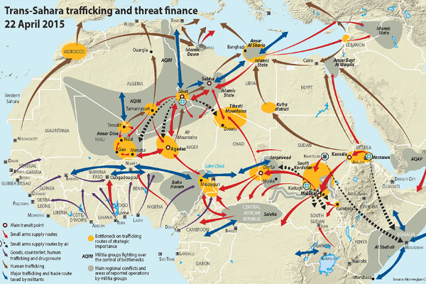 Illicit Trafficking & Threat Networks in Africa