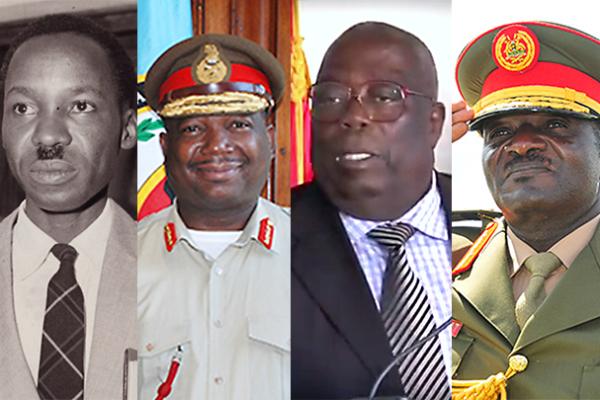 Nyerere, Odillo, Anyidoho, Wamala