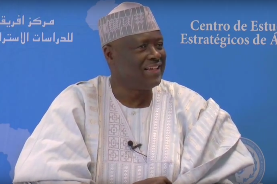 """""""To be an effective leader, you must want to empower those following you,"""" says General Martin Luther Agwai in an interview with the Africa Center for Strategic Studies."""