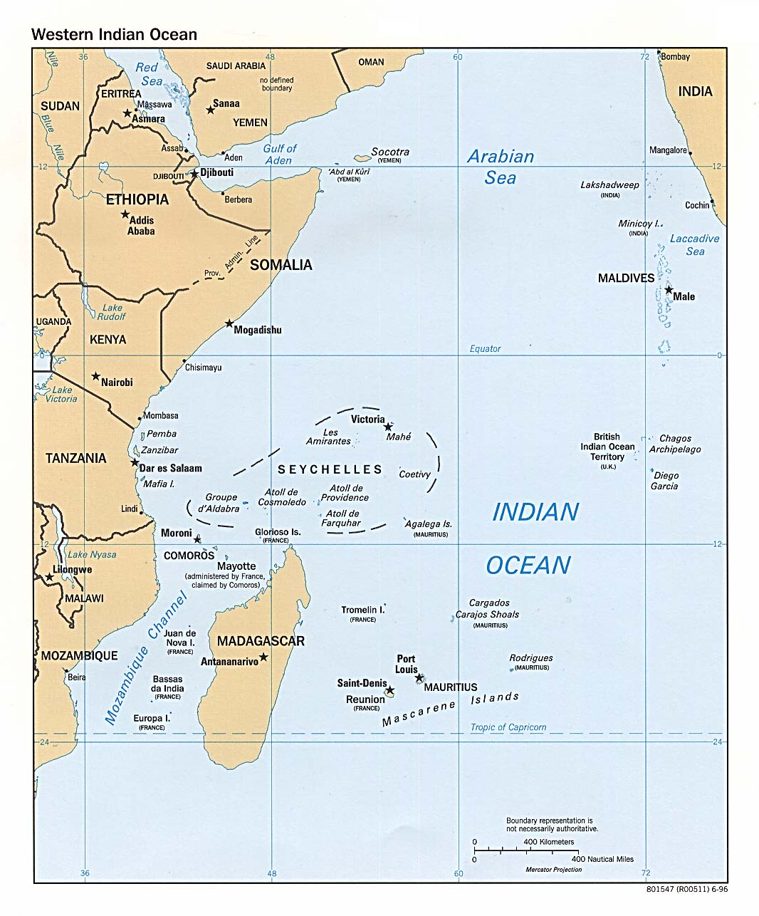 The western Indian Ocean