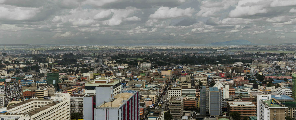Clouds over Nairobi