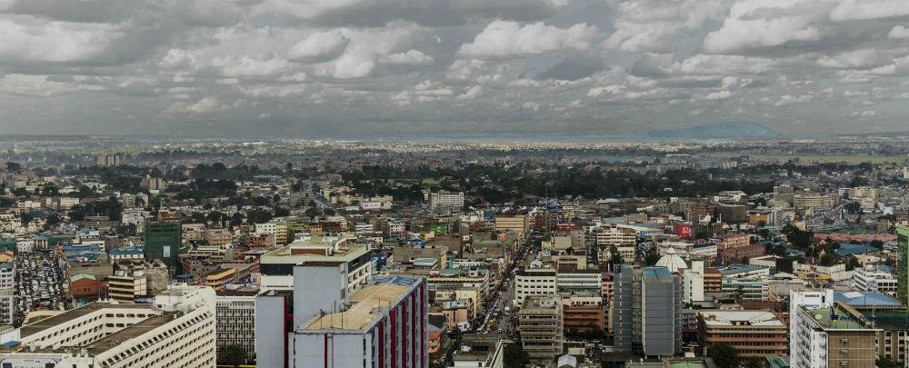 Clouds over Nairobi
