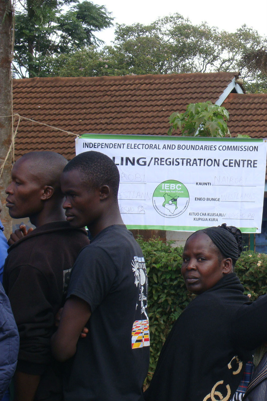 Kenya: An IEBC polling/registration centre