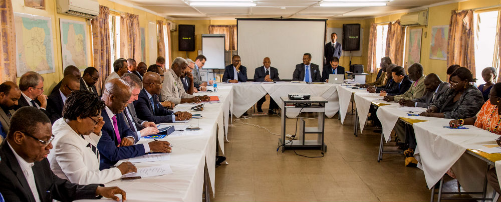 First meeting of the South Sudan Joint Monitoring and Evaluation Commission, November 27, 2015.
