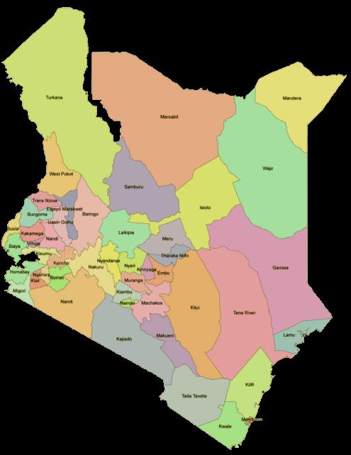 Counties of Kenya